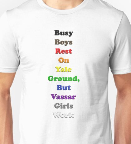 Resistor Code 15 - Busy Boys... Unisex T-Shirt