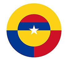 Colombian Air Force - Roundel Photographic Print