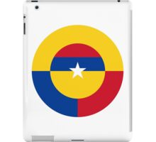 Colombian Air Force - Roundel iPad Case/Skin