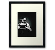 POLA-ROID Framed Print
