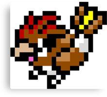 Pokemon 8-Bit Pixel Pidgeotto 017 Canvas Print