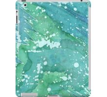 Blue Police Box - Bluegreen Galaxy I iPad Case/Skin