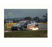 Jack Daniels Racing - Winton 2008 Art Print