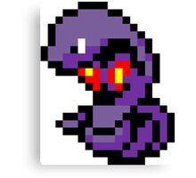 Pokemon 8-Bit Pixel Arbok 024 Canvas Print