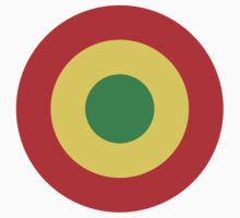 Congolese Air Force - Roundel One Piece - Short Sleeve
