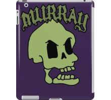 Murray! The laughing skull iPad Case/Skin