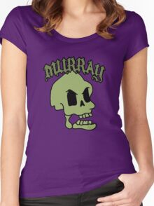Murray! The laughing skull Women's Fitted Scoop T-Shirt