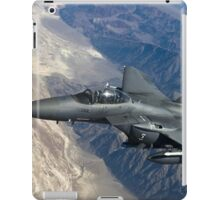 Military Fighter Jet Photograph iPad Case/Skin