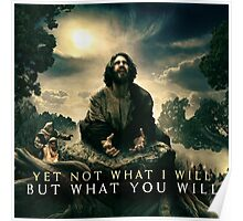 Yet Not What I Will Poster