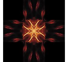 Crosses of Fire - Gold Photographic Print