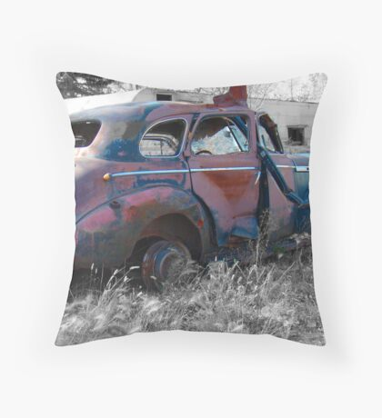 Relic Of The Past Throw Pillow