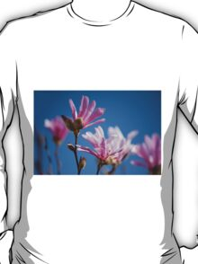 Vibrant pink Magnolia flowers T-Shirt