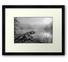 Fog's tale Framed Print