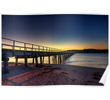 Sunrise Victor Harbor Poster