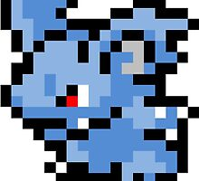 Pokemon 8-Bit Pixel Nidorina 030 by slr06002