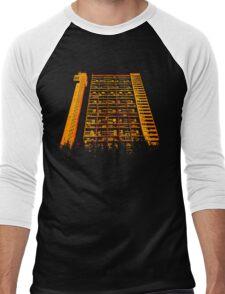 Tower Block. Men's Baseball ¾ T-Shirt
