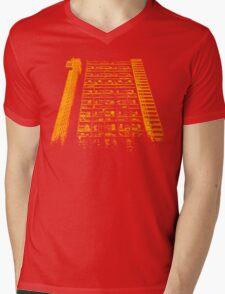 Tower Block. Mens V-Neck T-Shirt