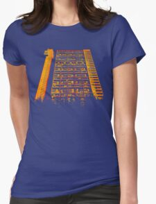 Tower Block. Womens Fitted T-Shirt