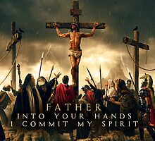 Father, Into Your Hands I Commit My Spirit by genone-design