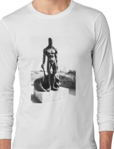 Naked guard Long Sleeve T-Shirt