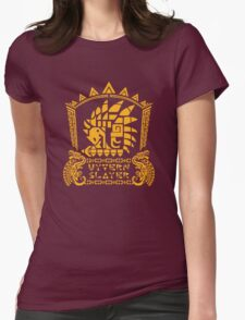 Wyvern Slayer Womens Fitted T-Shirt