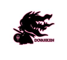 Pokémon Dovahkiin - Megamawile Photographic Print