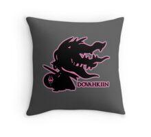 Pokémon Dovahkiin - Megamawile Throw Pillow