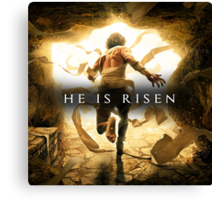 He Is Risen! Canvas Print