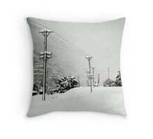The Heavens Fight Back Throw Pillow