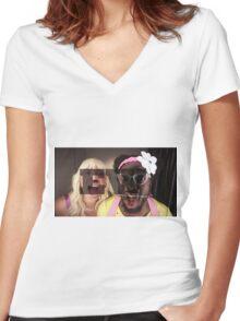 Jimmy Fallon/Will.i.am EW Women's Fitted V-Neck T-Shirt