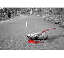 Red Carnage Photographic Print