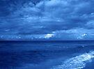 Sea in Blue by Sandy Keeton