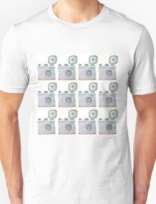 Camera Pattern 2.2 Unisex T-Shirt