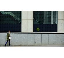 Pedestrians Please Levitate Photographic Print
