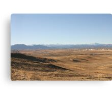 A Browner View Canvas Print
