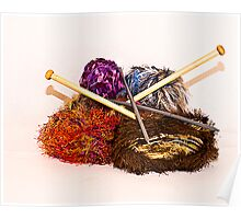 Knitting Thyme Poster