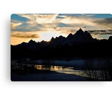 Grand Sihouette Canvas Print