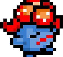 Pokemon 8-Bit Pixel Gloom 044 by slr06002