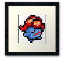 Pokemon 8-Bit Pixel Gloom 044 Framed Print