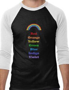 Colours of the Rainbow Men's Baseball ¾ T-Shirt