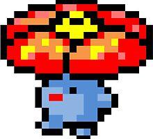 Pokemon 8-Bit Pixel Vileplume 045 by slr06002