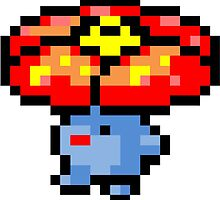 Pokemon 8-Bit Pixel Vileplume 045 by slr06002