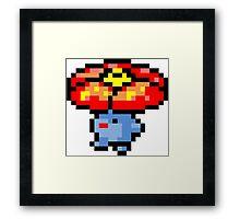 Pokemon 8-Bit Pixel Vileplume 045 Framed Print
