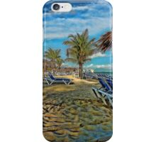 Peaceful Morning Beach iPhone Case/Skin