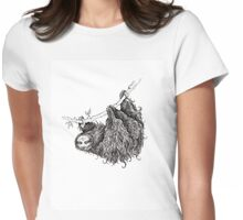 Slothy Womens Fitted T-Shirt