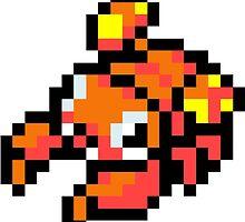 Pokemon 8-Bit Pixel Para 046 by slr06002