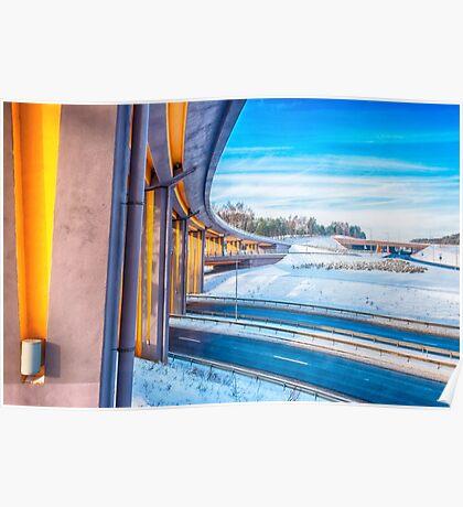 Winter Highways Poster