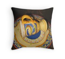 Dining In? © Throw Pillow
