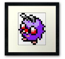 Pokemon 8-Bit Pixel Venonat 048 Framed Print