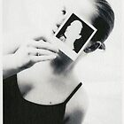 Polaroid Girl by M. van Oostrum